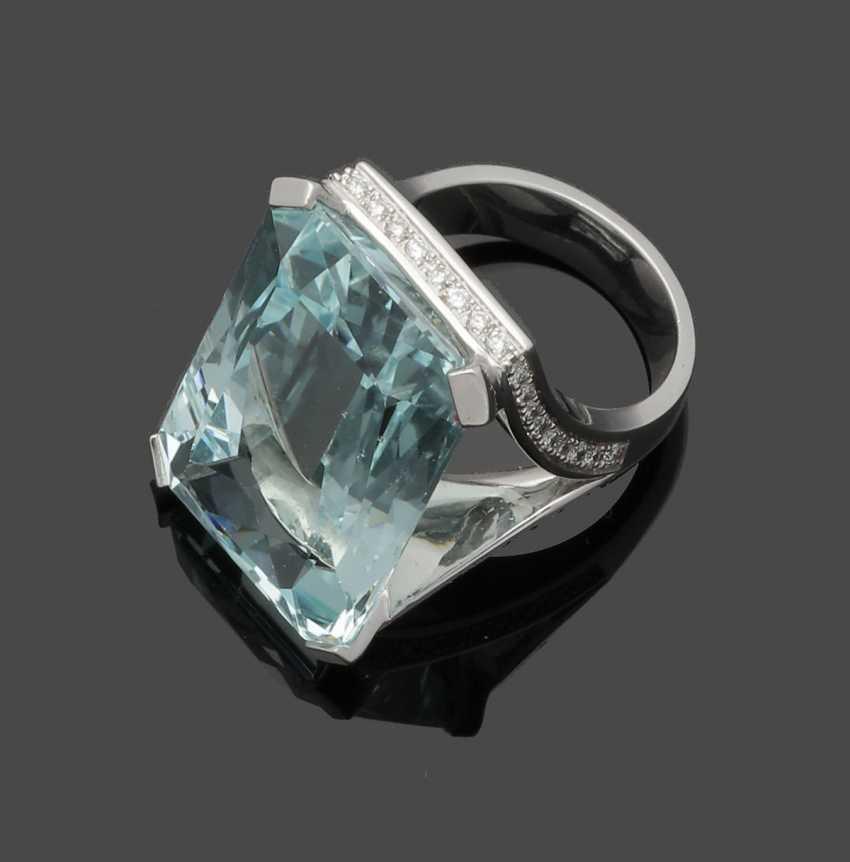 Representative Aquamarine Ring - photo 1