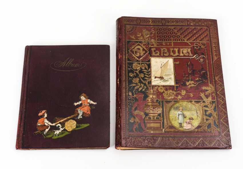 2 scrapbooks with glossy pictures wafers of poetry pictures - photo 3