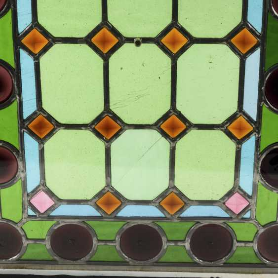 2 lead glass windows - photo 2