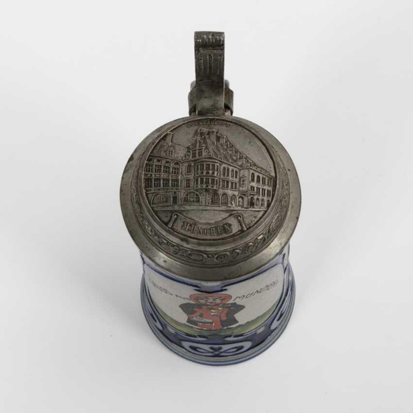 """Art Nouveau mug """"Greetings from Munich"""" - photo 2"""