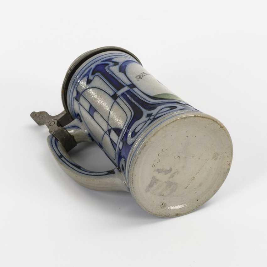 """Art Nouveau mug """"Greetings from Munich"""" - photo 3"""