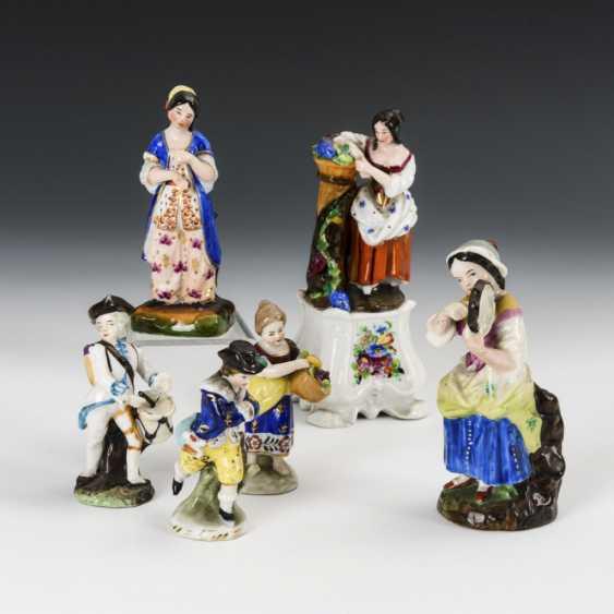 6 Thuringian figures - photo 1