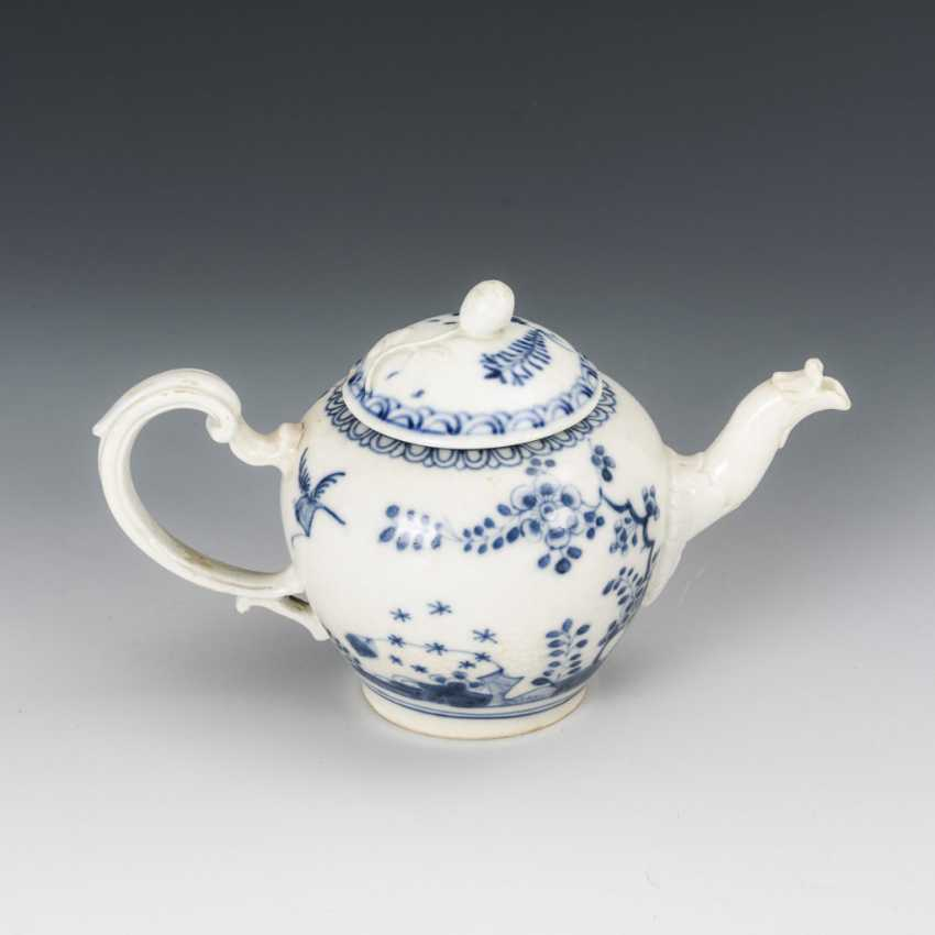 Teapot with blue painting - photo 2