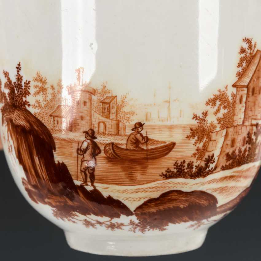 Cup with landscape painting - photo 3