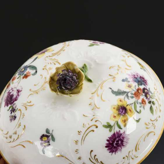 Maternity tureen with flower painting - photo 2