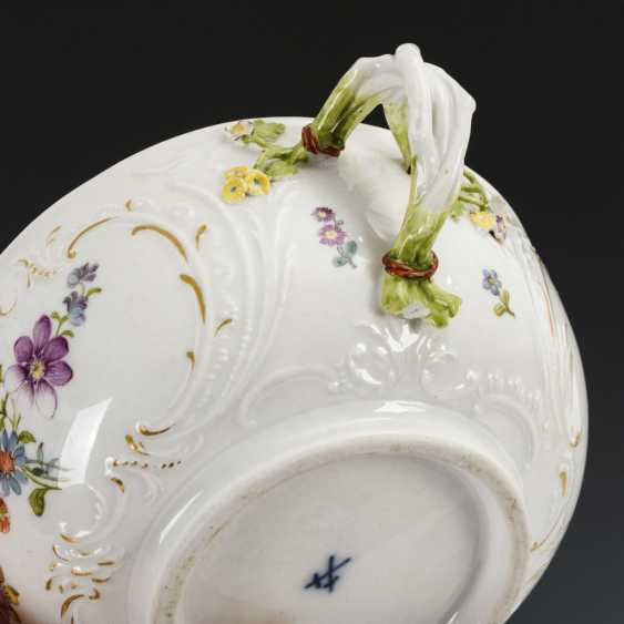 Maternity tureen with flower painting - photo 3