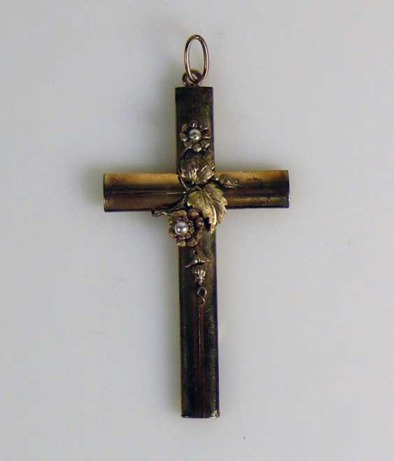 Cross pendant - photo 1