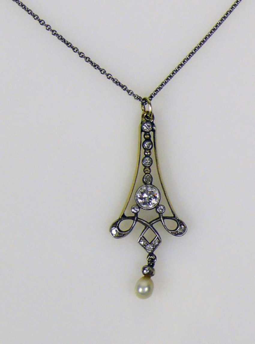 Art Nouveau-Necklace - photo 1