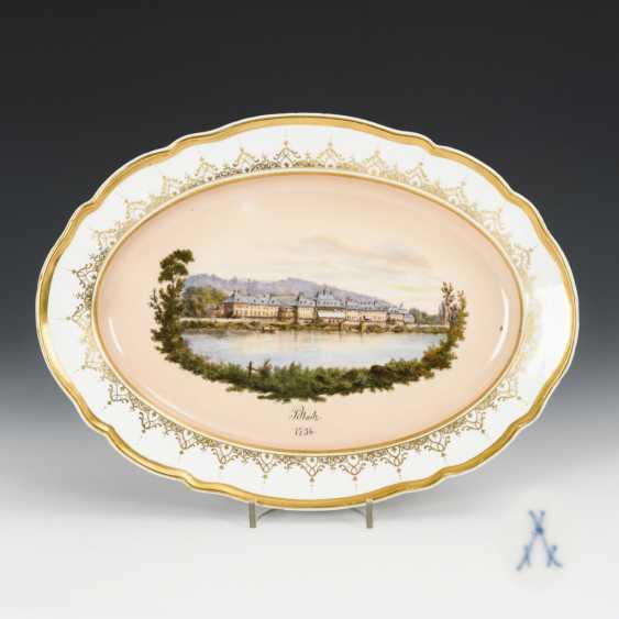 """Pillnitz"" view plate - photo 1"
