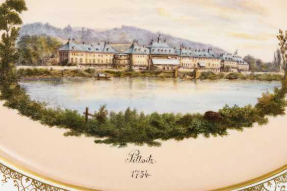 """Pillnitz"" view plate - photo 2"