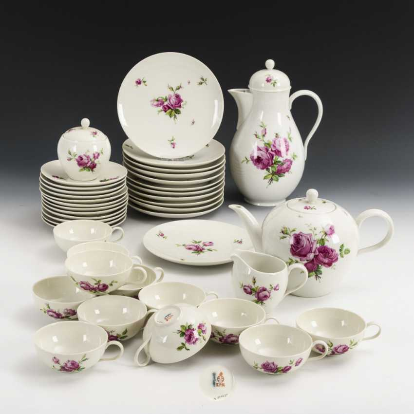 """Coffee and tea service """"Red Rose"""" - photo 1"""