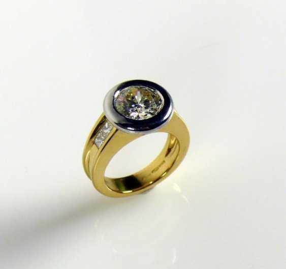 Solitaire-Brilliant Ring - photo 1