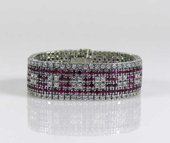 Brillant-/Rubin-Armband - photo 1