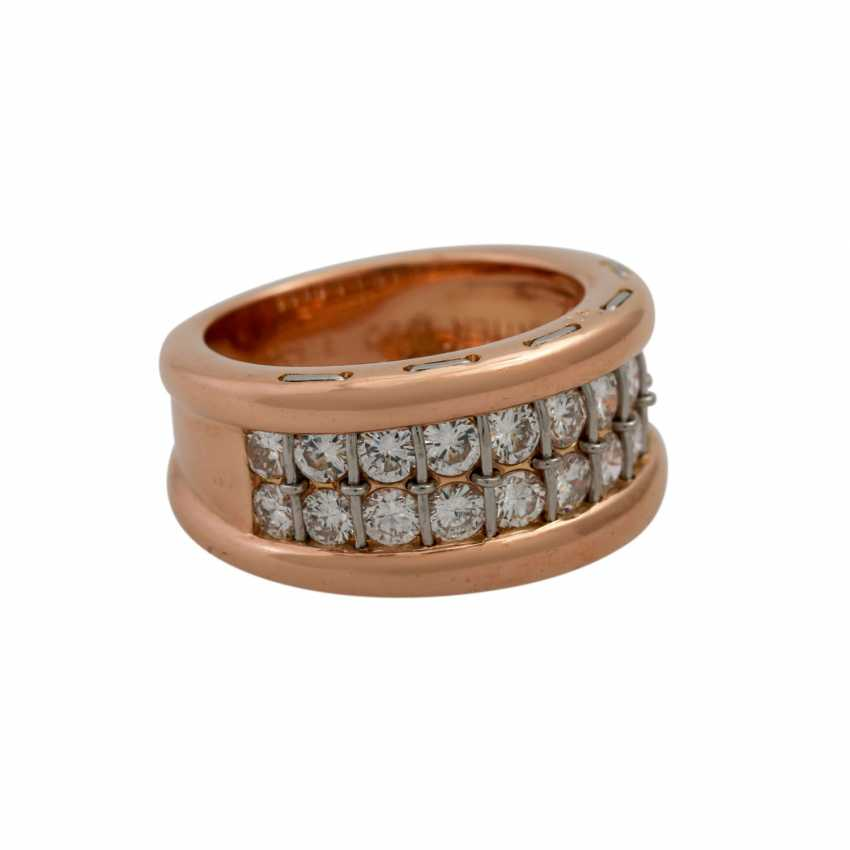 CARTIER ring with diamonds, together approx. 1.4 ct, - photo 1