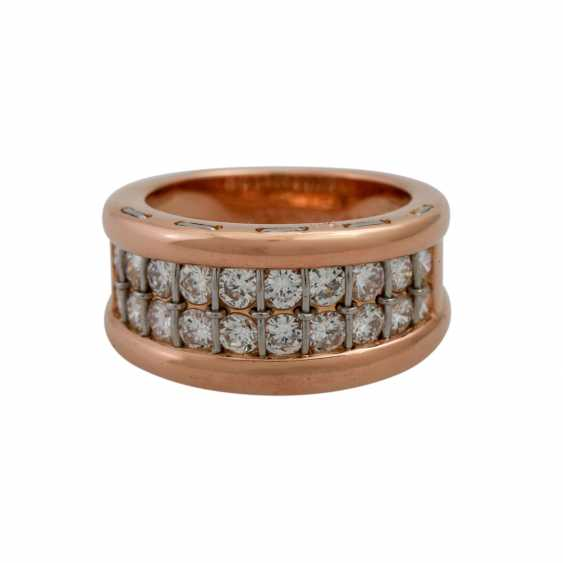 CARTIER ring with diamonds, together approx. 1.4 ct, - photo 2