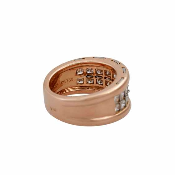 CARTIER ring with diamonds, together approx. 1.4 ct, - photo 3