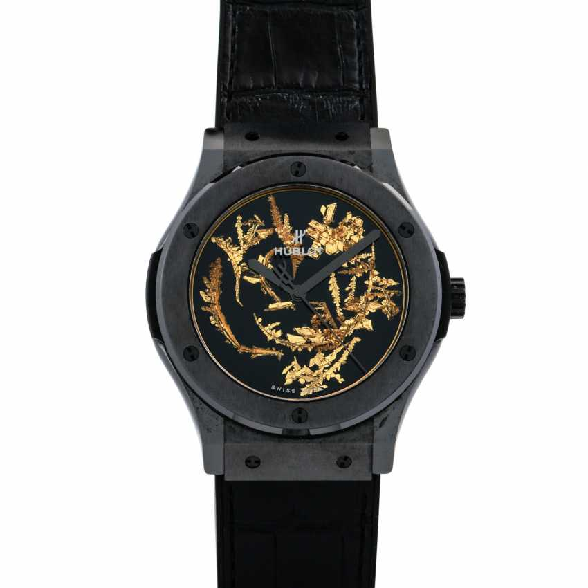 "HUBLOT Classic Fusion ""Gold Crystal Firmament"", Ref. 511.CX.0660.LR. Wrist watch. Current new price: 20,800 euros. - photo 1"