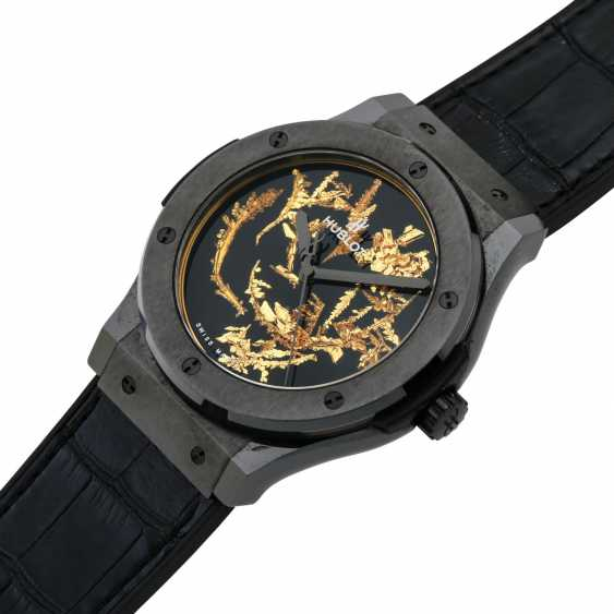 "HUBLOT Classic Fusion ""Gold Crystal Firmament"", Ref. 511.CX.0660.LR. Wrist watch. Current new price: 20,800 euros. - photo 5"