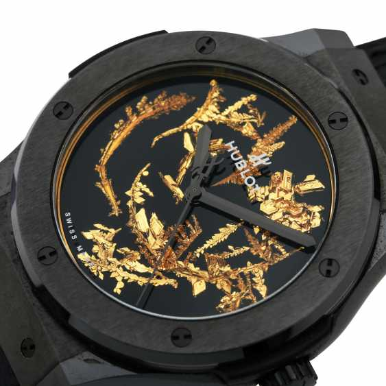 "HUBLOT Classic Fusion ""Gold Crystal Firmament"", Ref. 511.CX.0660.LR. Wrist watch. Current new price: 20,800 euros. - photo 6"