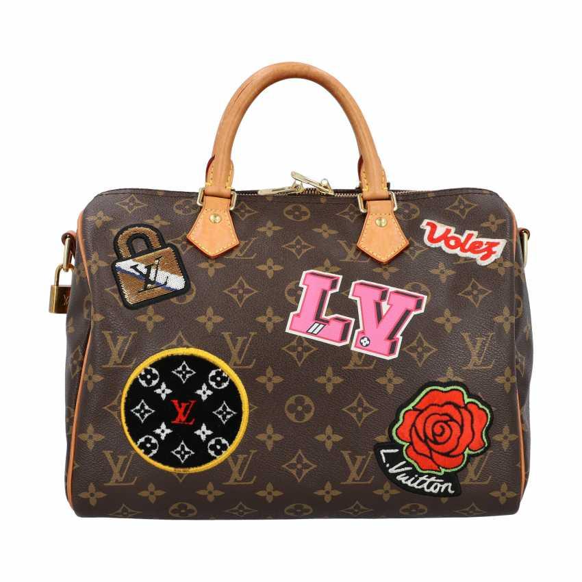 """LOUIS VUITTON handbag """"SPEEDY 30"""", Capsule Collection Hiver 2018. - photo 1"""