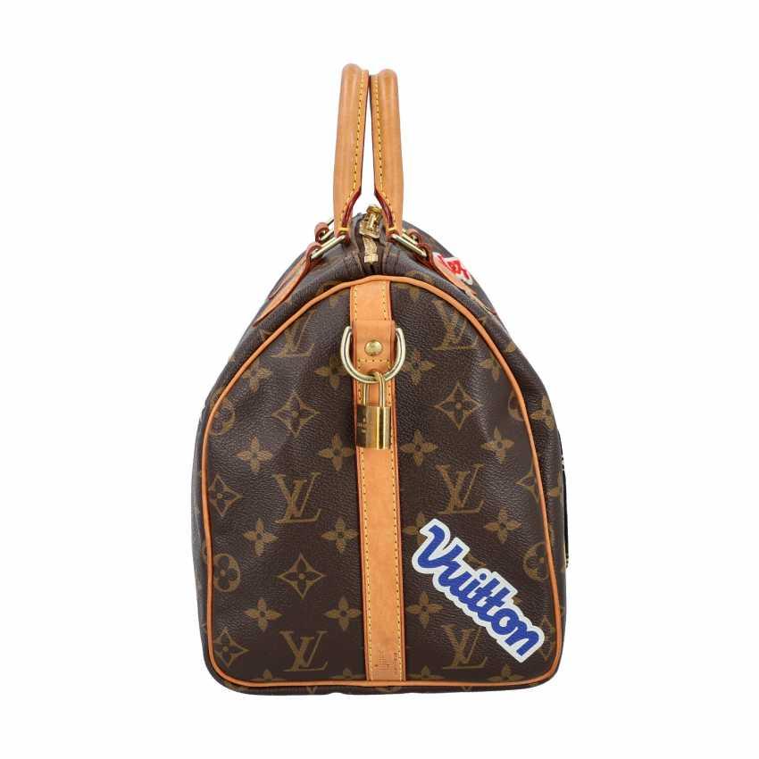 """LOUIS VUITTON handbag """"SPEEDY 30"""", Capsule Collection Hiver 2018. - photo 3"""