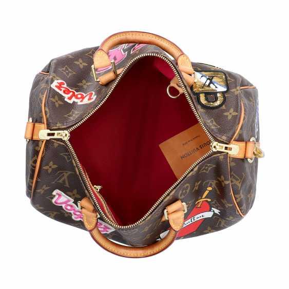 """LOUIS VUITTON handbag """"SPEEDY 30"""", Capsule Collection Hiver 2018. - photo 6"""