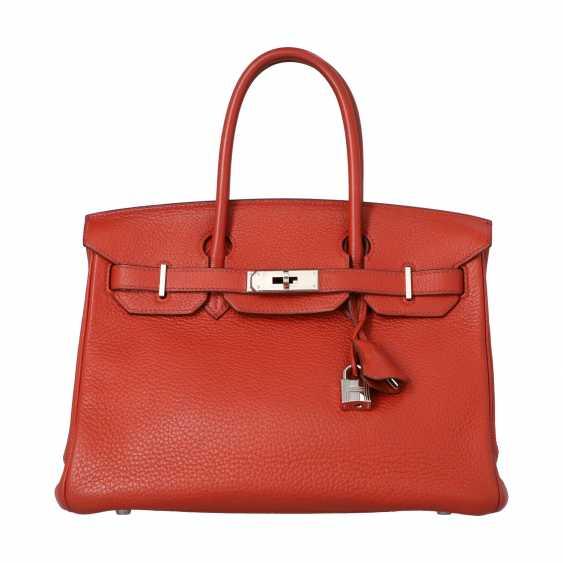 "HERMÈS handbag ""BIRKIN BAG 30"", collection 2006. - photo 1"