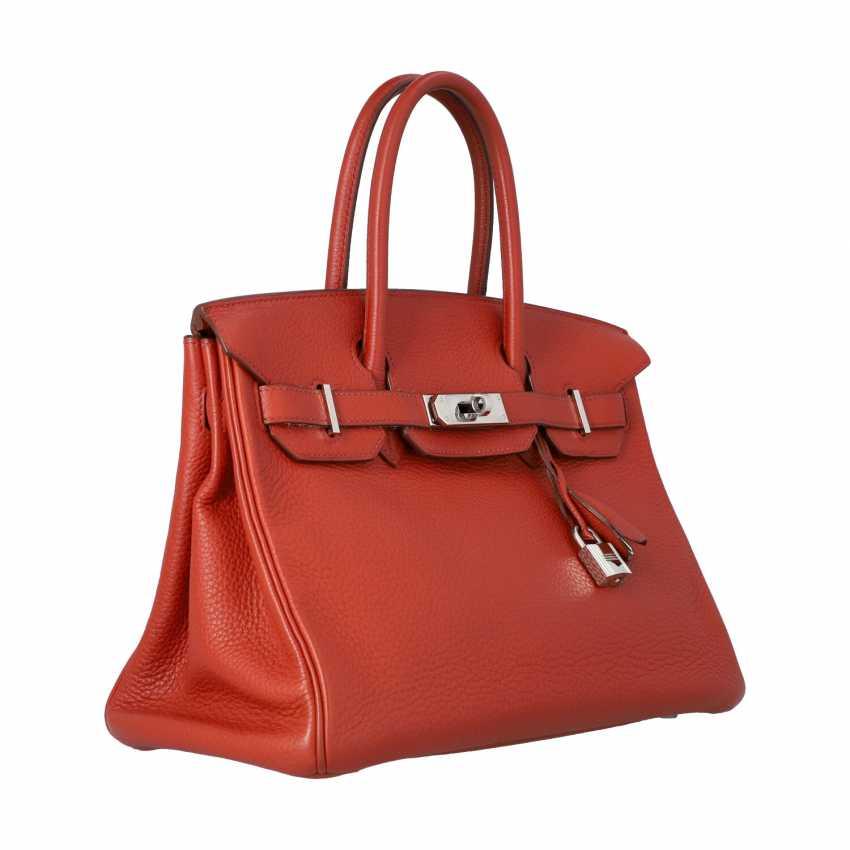 "HERMÈS handbag ""BIRKIN BAG 30"", collection 2006. - photo 2"