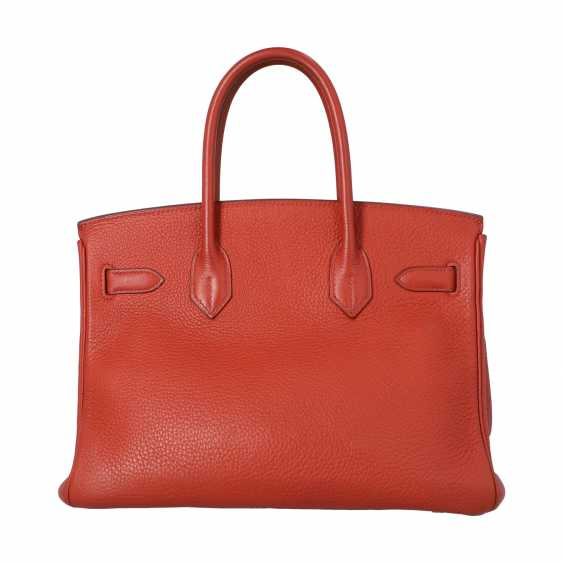 "HERMÈS handbag ""BIRKIN BAG 30"", collection 2006. - photo 4"