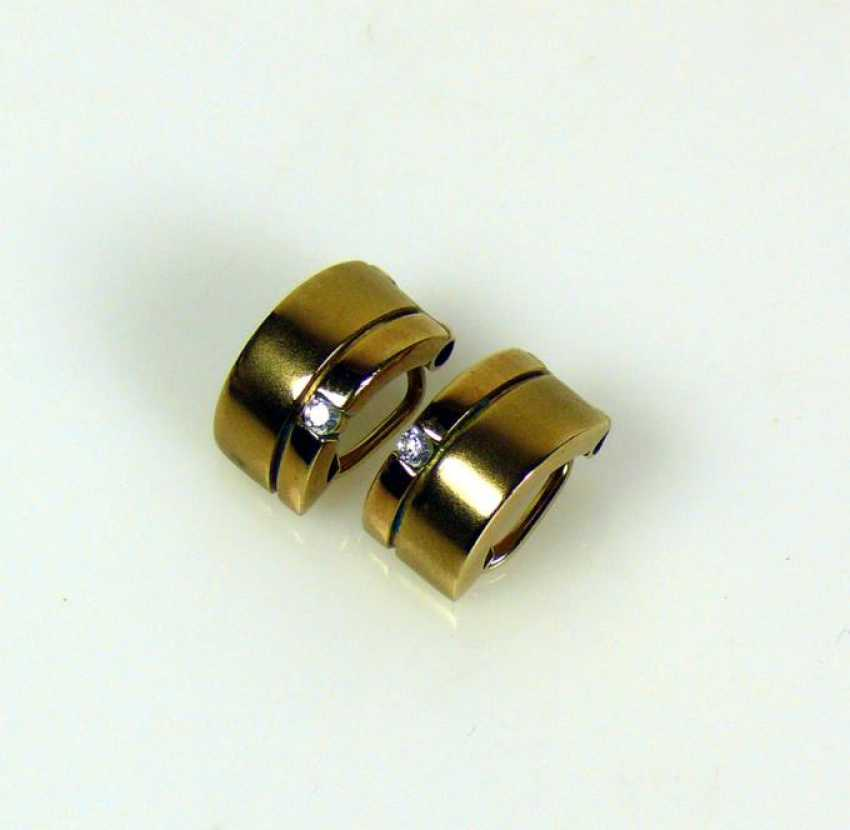 Pair Of Clip-On Earrings - photo 1