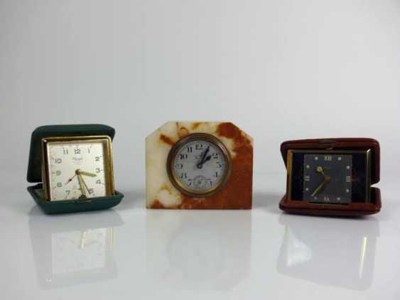 3 various table clocks - photo 1