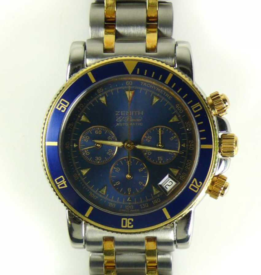 ZENITH men's wristwatch - photo 1