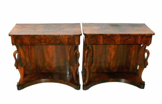 Pair Of Console Tables - photo 1