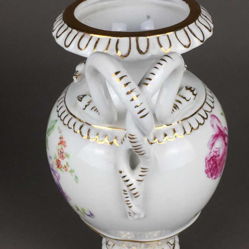 Pair of snake handle vases - photo 4