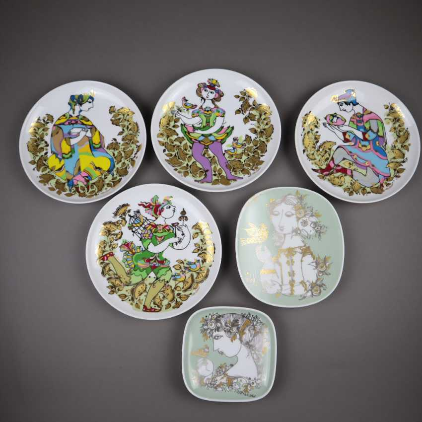 Mixed lot of Rosenthal porcelain - photo 1