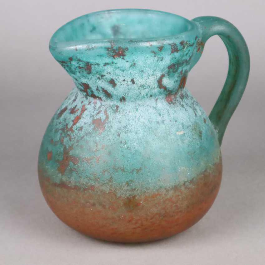 Decorative glass jug - photo 1