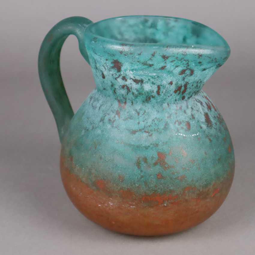 Decorative glass jug - photo 2