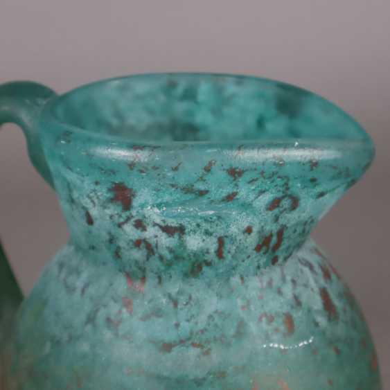 Decorative glass jug - photo 3