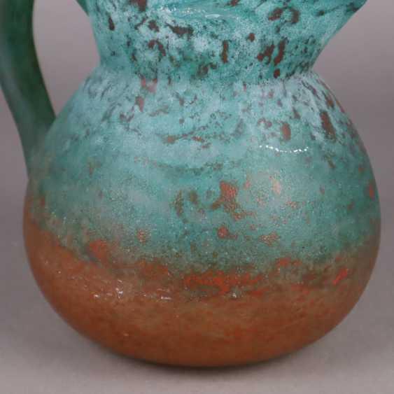 Decorative glass jug - photo 4