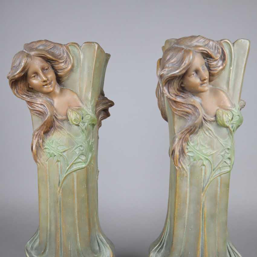 Pair of Art Nouveau vases - photo 8