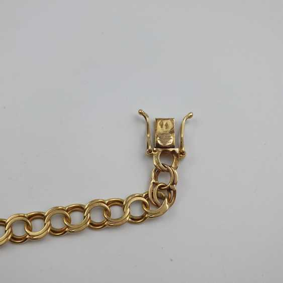 Link bracelet with name plaque - photo 4