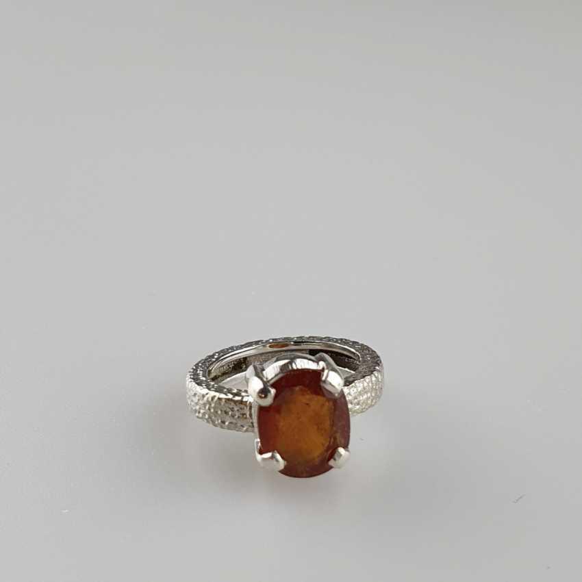 Hessonit (Granat) Ring - photo 1
