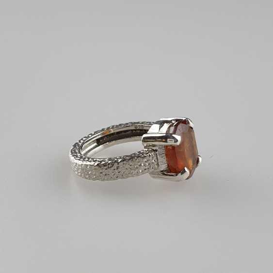 Hessonit (Granat) Ring - photo 2