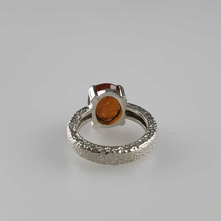 Hessonit (Granat) Ring - photo 3