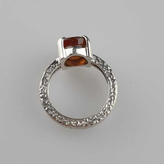 Hessonit (Granat) Ring - photo 4