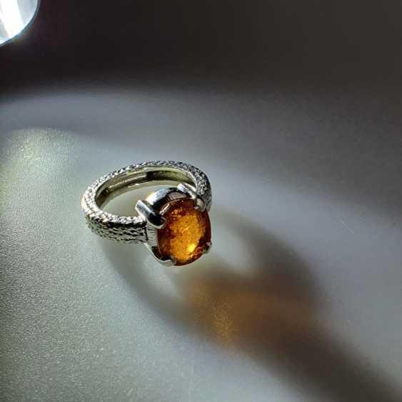 Hessonit (Granat) Ring - photo 5