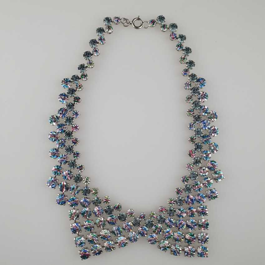 Magnificent vintage collar in the shape of a collar - photo 2