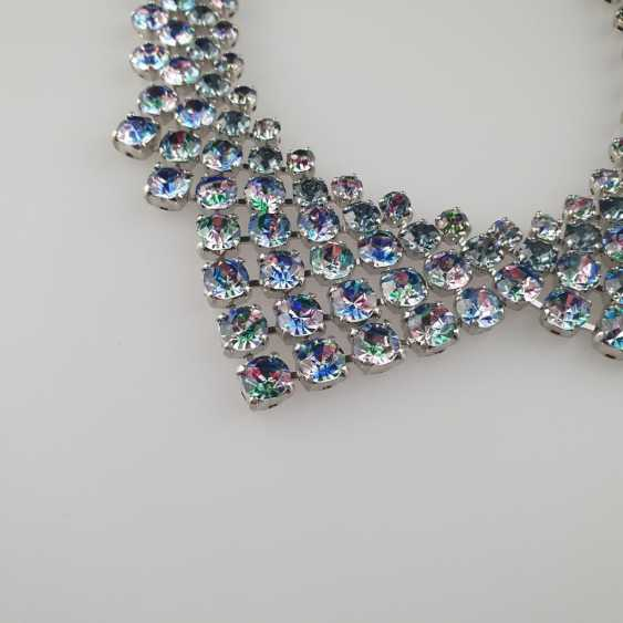 Magnificent vintage collar in the shape of a collar - photo 3