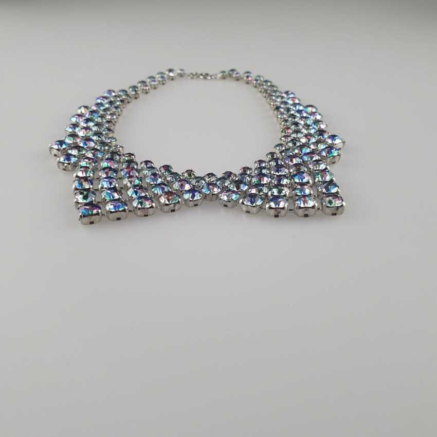 Magnificent vintage collar in the shape of a collar - photo 4