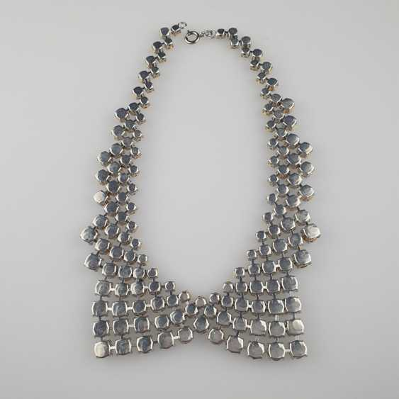 Magnificent vintage collar in the shape of a collar - photo 5